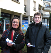 Amina Yelles et Regis Coadou ©nogent-municipales.com 2008