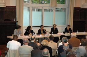 Débat entre candidates aux législatives de 2007 © Nogent-municipales.com