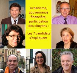 Les 7 candidats © Nogent-Municipales.com 2008