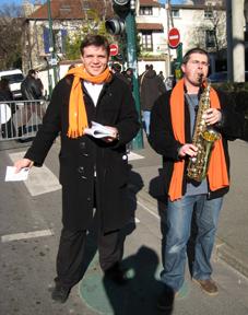 Saxophone Modem Nogent Passionnément © Nogent-Municipales 2008