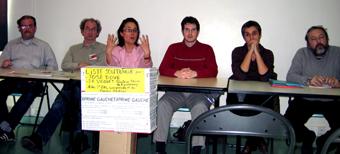 Réunion publique Exprime Gauche © Nogent-Municipales.com 2008