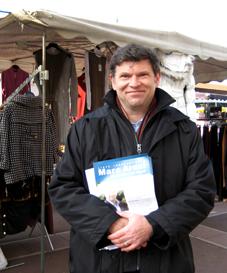 Marc Arazi Jeudi 14 février Marché © Nogent-Municipales 2008