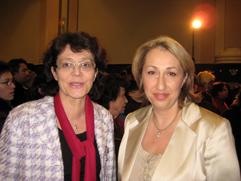 Marie-Anne Montchamp et Estelle Debaecker © Nogent-Municipales 2008