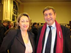 Marie-Anne Montchamp et Philippe Goyheneche © Nogent-Municipales 2008