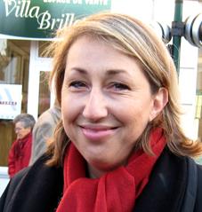 Marie-Anne Montchamp Marché de Nogent Nogent-Municipales 2008