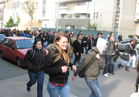 Manifestations lycéennes à Nogent sur Marne