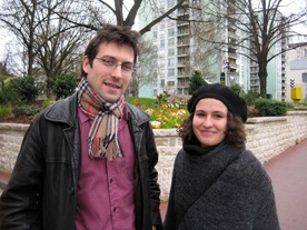 Pierre Anquetil, directeur de SNL 94 et Oriane Pichaut, architecte SNL 94