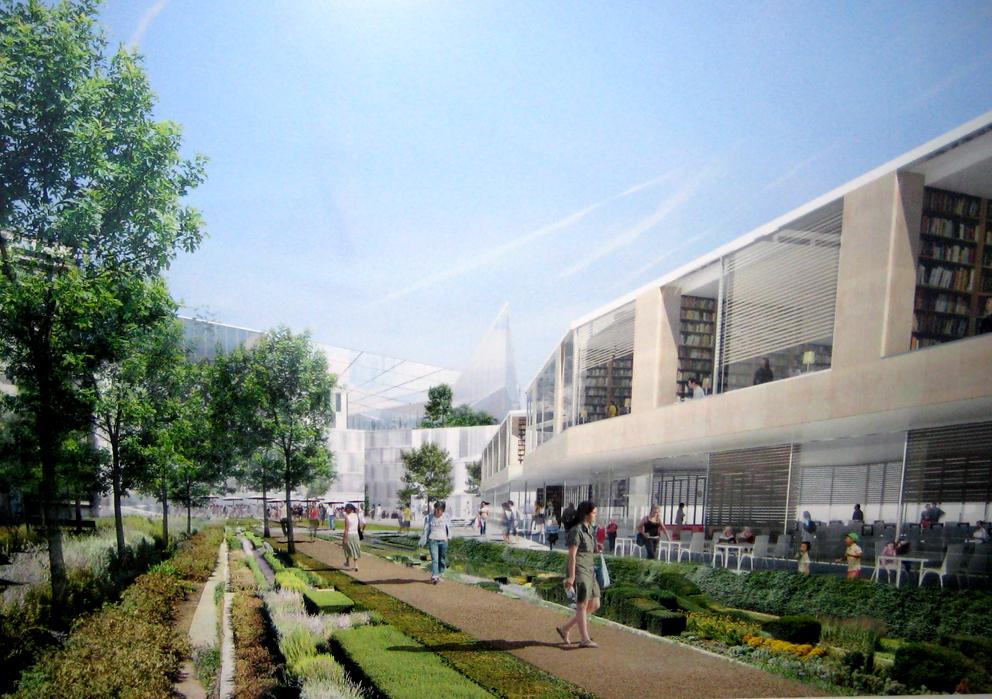 D co terrasse et jardin immobilier vincennes for Jardin immobilier
