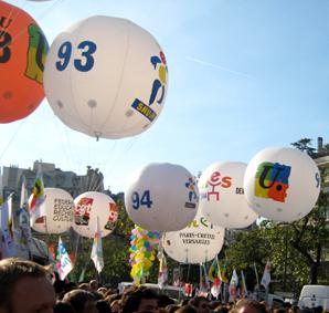 Manifestation 19 octobre 2008