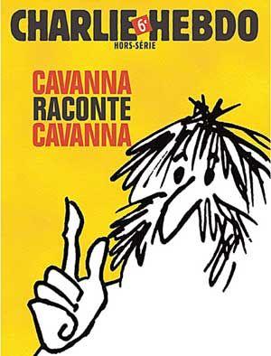 Une du hors série de Charlie Hebdo, Cavanna raconte Cavanna, 2008