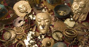 Affiche Fabuleux trésor des Incas Connaissance du Monde