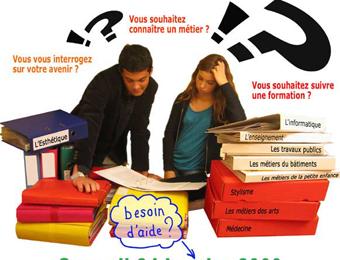 Forum des métiers Saint Mandé 24 janvier 2009