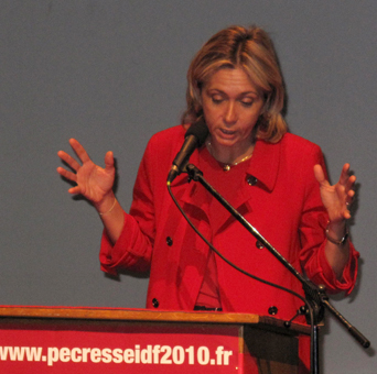 Valérie Pécresse Nogent sur Marne 9 février 2009