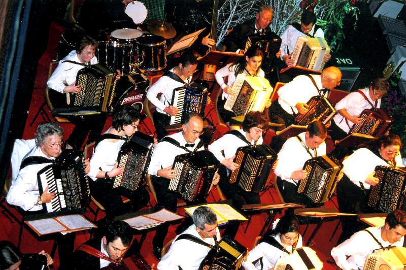 Orchestre d'accordéons de Paris José Vicario