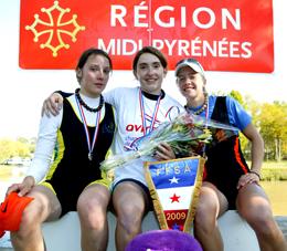 Hélène Lefebvre ChampionnatsFrance Cazaubon Photo Igor Meijer