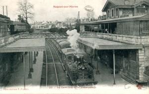 Gare Nogent sur Marne ligne de Vincennes