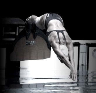 Championnat de France junior de nage avec palmes