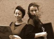 Marie Favereau et Pascale Heinsch