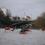 Canoë kayak sur la Marne