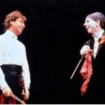 Pierre Amoyal et le clown Buffo
