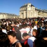 Semi-marathon de Paris 2007 Départ du Château de Vincennes