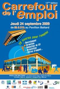 Treizième édition du Carrefour de l'emploi au Pavillon Baltard de Nogent sur Marne