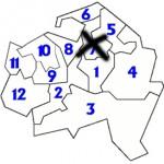 Circonscriptions législatives Val de Marne 2009