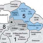 Nouvelle circonscription législative de Nogent sur Marne