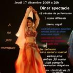 Concert Loulou al Fouad à l'Orientale Feeling Jeudi 17 décembre 2009