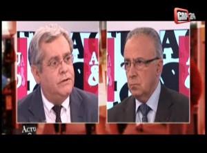 Vidéo du débat réforme territoriale CAP24 avec J.JP. Martin