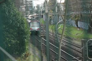 Le RER A entre à Nogent sur Marne