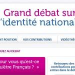 Grand débat sur l'identité nationale