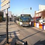 Voie de bus RER Joinville le Pont