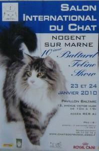 salon du chat 2010 le baltard feline show de retour